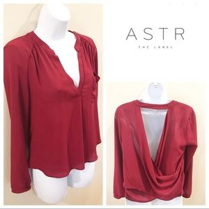 ASTR The Label | Draped Blouse